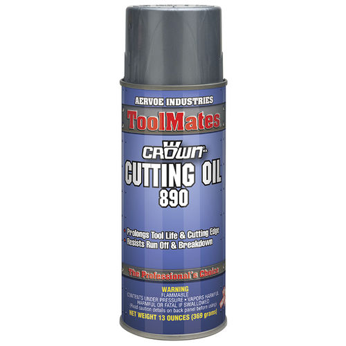 cutting oil / molybdenum bisulphate / for metals / aerosol