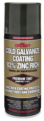 cold galvanizer spray / multi-use / for metal