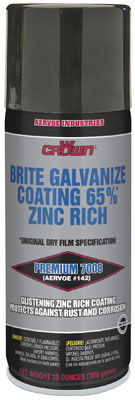 anti-corrosion spray / multi-use / for metal / zinc-rich