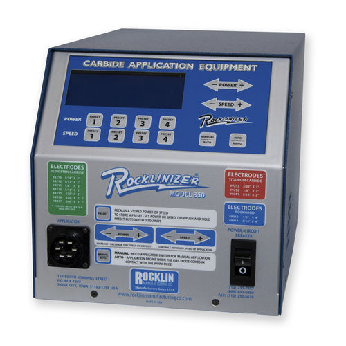 ESD deposition machine - Rocklin Manufacturing