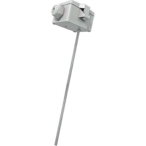 HVAC duct temperature sensor