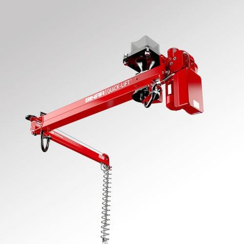 hanging manipulator arm