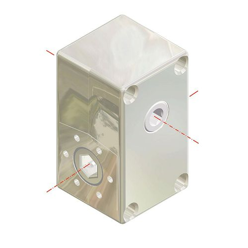 worm gearbox / right angle / 10 - 20 Nm / 1 - 5 Nm