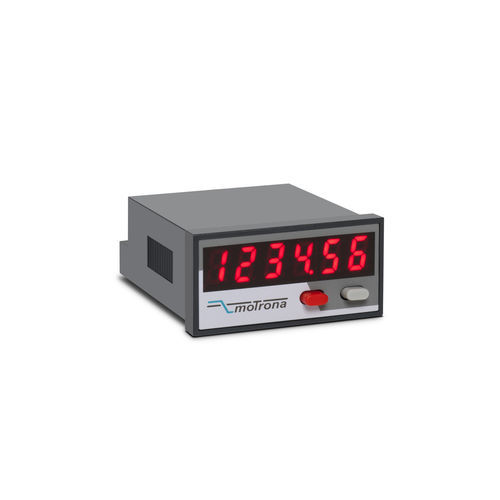 position indicator / 6-digit / with LED display / direct-reading