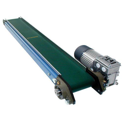 belt conveyor / horizontal / stainless steel