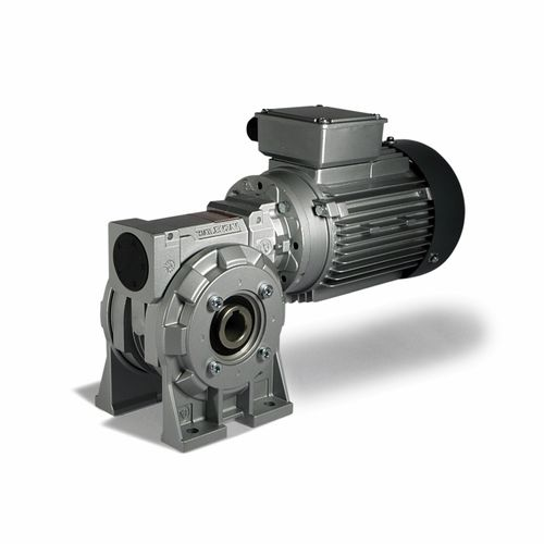 AC gear-motor / worm / right angle / hollow-shaft