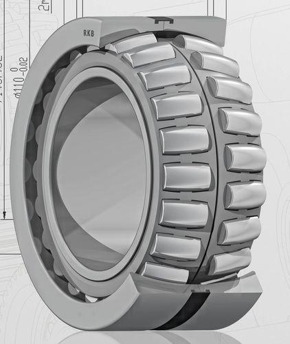 spherical roller bearing / axial / radial / steel