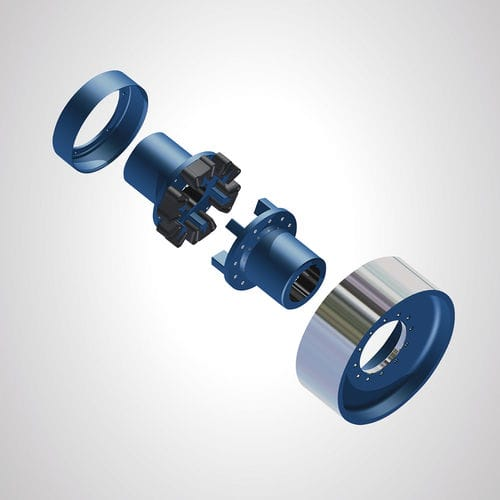 flexible coupling / for shafts / industrial / sleeve and shear pin