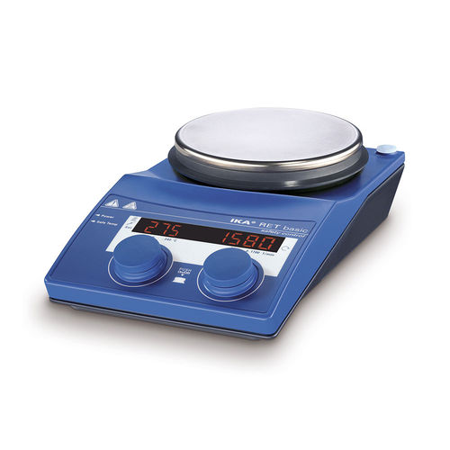magnetic laboratory shaker / digital / flask / hot plate