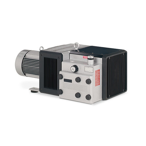 rotary vane vacuum pump / dry / single-stage / low-noise level