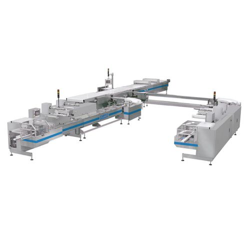 chocolate product complete packaging line