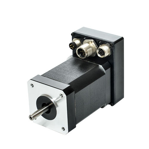 DC motor / brushless / 48V / integrated-drive