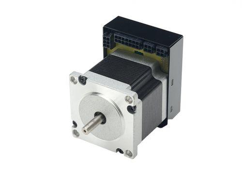 DC motor / stepper / 48V / integrated-drive