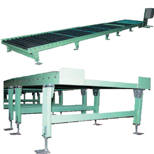 roller conveyor / for pallets / bag / for containers