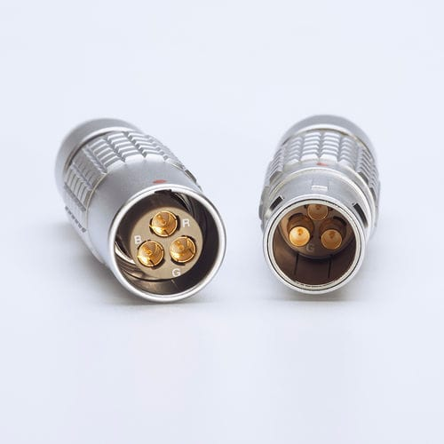 HDTV camera connector / RF / coaxial / weld