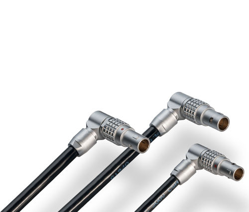 adjustable connector / data / right-angle / weld