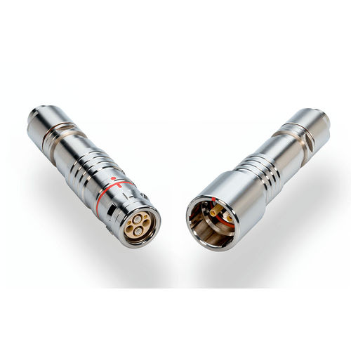 hybrid connector / electrical power supply / optical / fiber optic
