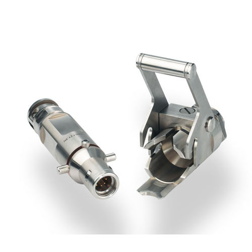 connector for nuclear applications / RF / hybrid / data