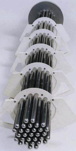 tubular heat exchanger / liquid/liquid / corrosion-resistant