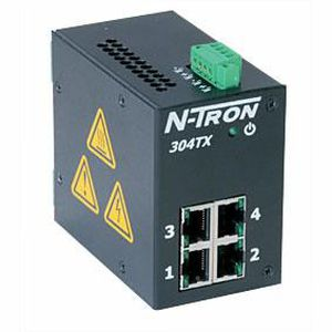 managed ethernet switch / 16 ports / DIN rail / fast