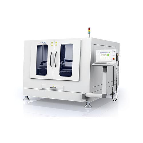 fiber laser cutting machine / for steel / for aluminum / for copper