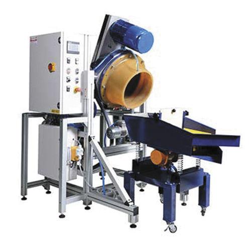 grinding vibratory finishing machine / polishing / edge rounding / deburring