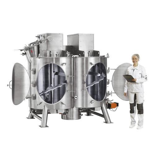 ribbon mixer / batch / for liquids / powder