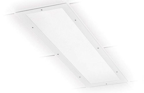 ceiling-mounted lighting / LED / for clean rooms / surface-mounted