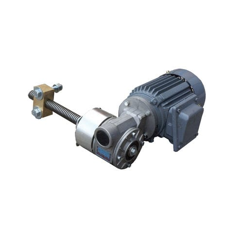electric valve actuator / rotary / worm gear / compact