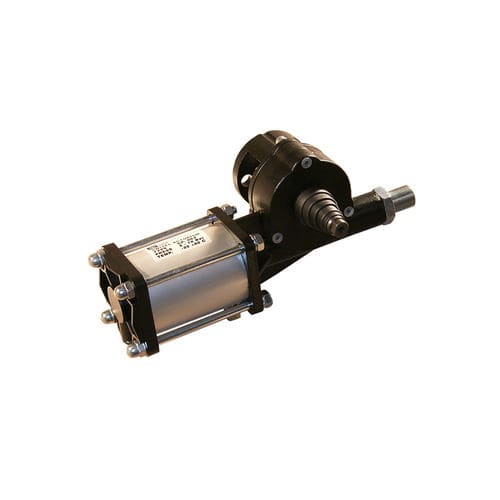 piston valve actuator / pneumatic / linear / compact