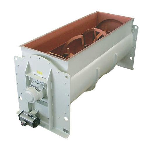 ribbon mixer / batch / for liquids / horizontal