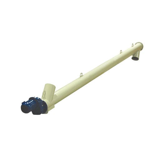screw conveyor / construction / for bulk materials / trough