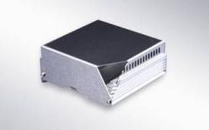 surface mounted enclosure / modular / galvanized steel / extruded