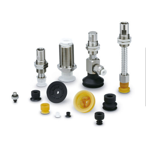 bellows vacuum pad / flat / handling