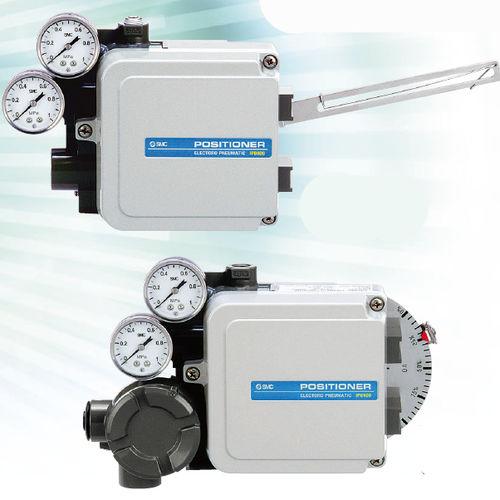 electro-pneumatic valve positioner / rotary / smart
