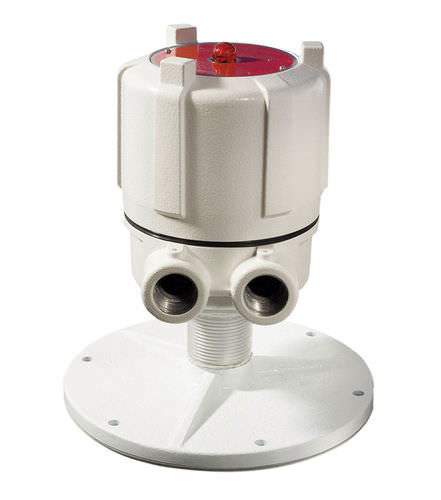 capacitive level switch / for solids / for liquids / flush-mount