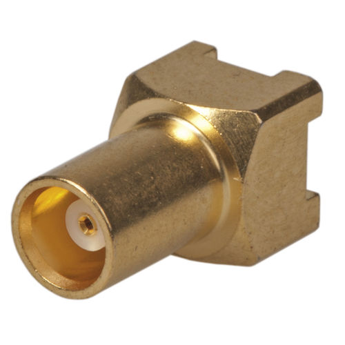 RF connector / coaxial / cylindrical / snap-on
