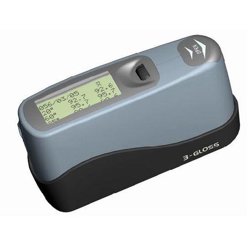 three-angle gloss meter / digital / portable