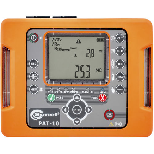 portable appliance tester / insulation resistance / leakage current / electric