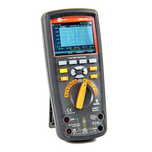 digital multimeter / portable / 1000 V / 10 A