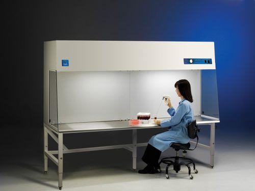 horizontal laminar flow booth