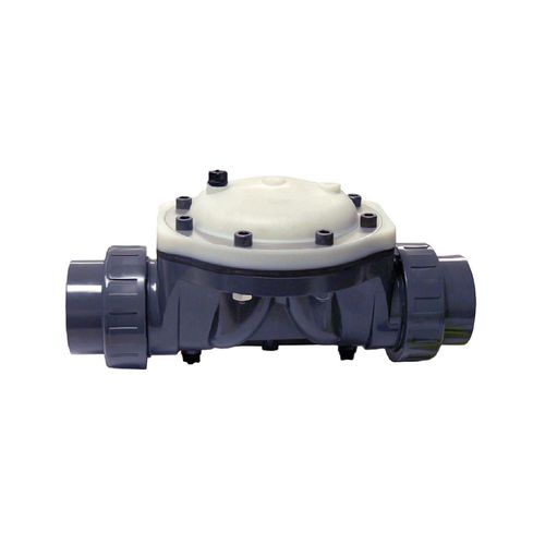 diaphragm valve / hydraulic / chemical-resistant