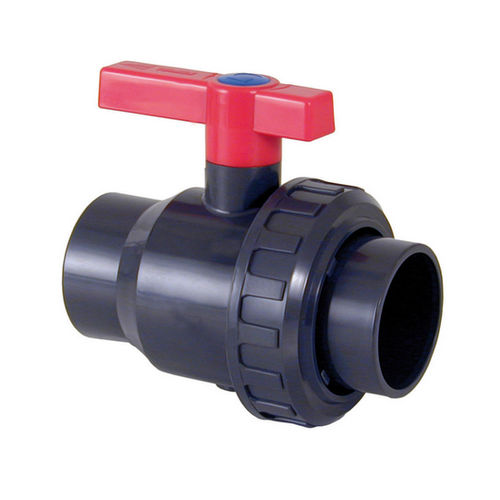 monobloc valve / ball / manual / for water