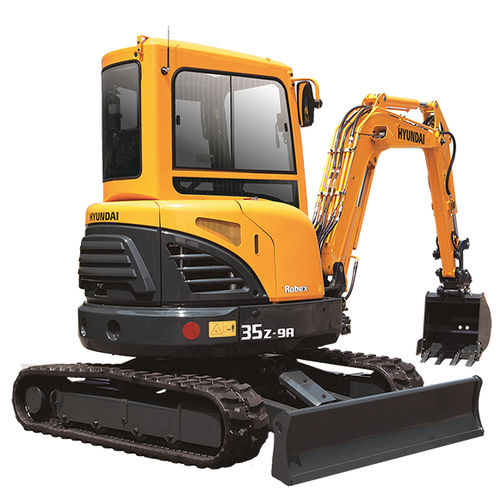 compact excavator / mini / crawler / Tier 4 - final