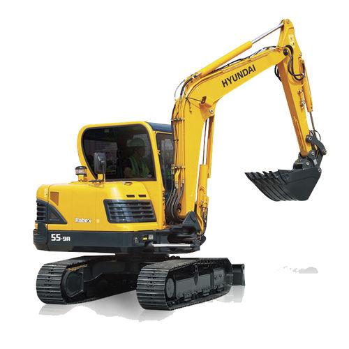 compact excavator / midi / crawler / Tier 4 - final