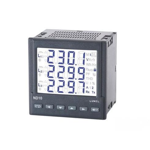 electrical network analyzer / power / RS485 / IP65