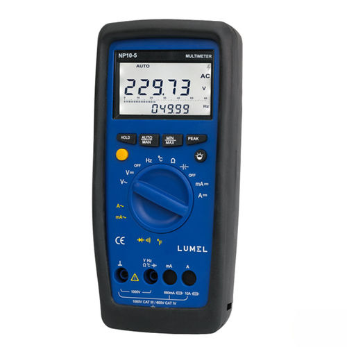 digital multimeter / portable / 1000 V / 10 A