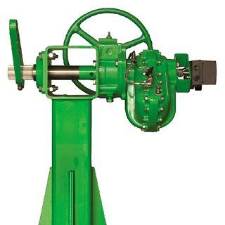 pneumatic damper actuator / rotary / linear