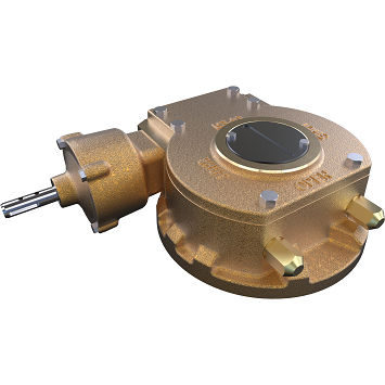 worm gearbox / right angle / manual / valves