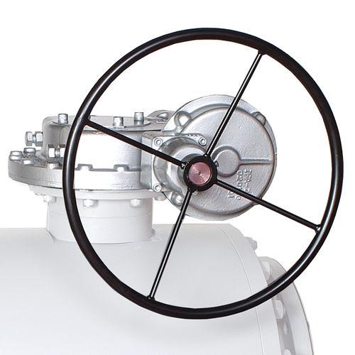 valve gearbox / worm / orthogonal / high-efficiency